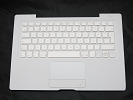 "KB Topcase - 99% NEW White Top Case Palm Rest with Swedish Keyboard Trackpad Touchpad for Apple MacBook 13"" A1181 2006 2007 also Compatible with 2008 2009"