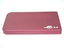 "Other Accessories - Red 2.5"" IDE Hard Drive HDD Enclosure External Case for MacBook Pro A1278 A1286 A1297 Laptop"