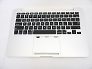 "KB Topcase - NEW US Keyboard Top Case Palm Rest without Trackpad for Apple Macbook Pro 13"" A1502 2013 2014 Retina"