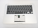 "KB Topcase - Grade A+ Top Case Palm Rest with US Keyboard for Apple MacBook Air 13"" A1466 2013 2014 2015"