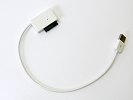 Other Accessories - White USB 2.0 to 7+6 13Pin Slimline SATA Laptop CD DVD Rom Optical Super Drive Adapter Cable