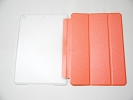 IPad Case - Orange Slim Smart Magnetic Cover Case Sleep Wake with Stand for Apple iPad Air