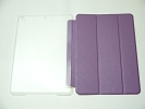 IPad Case - Purple Slim Smart Magnetic Cover Case Sleep Wake with Stand for Apple iPad Air