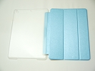 IPad Case - Sky Blue Slim Smart Magnetic Cover Case Sleep Wake with Stand for Apple iPad Air