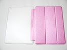 IPad Case - Shining Pink Slim Smart Magnetic Cover Case Sleep Wake with Stand for Apple iPad Air