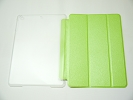 IPad Case - Green Slim Smart Magnetic Cover Case Sleep Wake with Stand for Apple iPad Air
