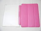 IPad Case - Pink Slim Smart Magnetic Cover Case Sleep Wake with Stand for Apple iPad Air