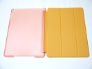 IPad Case - Orange Slim Smart Magnetic PU Leather Cover Case Sleep Wake with Stand for Apple iPad Air