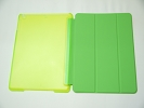 IPad Case - Green Slim Smart Magnetic PU Leather Cover Case Sleep Wake with Stand for Apple iPad Air