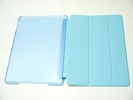 IPad Case - Sky Blue Slim Smart Magnetic PU Leather Cover Case Sleep Wake with Stand for Apple iPad Air