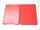 IPad Case - Red Slim Smart Magnetic PU Leather Cover Case Sleep Wake with Stand for Apple iPad Air