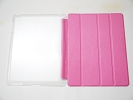 IPad Case - Pink Slim Smart Magnetic Cover Case Sleep Wake with Stand for Apple iPad 2 3 4