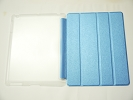 IPad Case - Blue Slim Smart Magnetic Cover Case Sleep Wake with Stand for Apple iPad 2 3 4