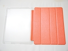IPad Case - Orange Slim Smart Magnetic Cover Case Sleep Wake with Stand for Apple iPad 2 3 4