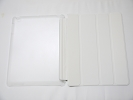 IPad Case - White Slim Smart Magnetic PU Leather Cover Case Sleep Wake with Stand for Apple iPad 2 3 4