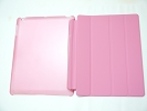 IPad Case - Pink Slim Smart Magnetic PU Leather Cover Case Sleep Wake with Stand for Apple iPad 2 3 4