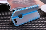 "iPhone Case - Foldable Blue Premium Thin TPU Skin Case Matte Cover for 4.7"" iPhone 6"