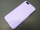 iPhone Case - Purple & Black Premium Thin TPU Skin Case Matte Cover for iPhone 6 Plus 5.5""