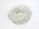 Cable - 100 FT 30m ETA/TIA CAT5e CAT5 RJ45 Ethernet LAN Network Patch Cable Grey Snagless Male