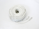 Cable - 200 FT 60M ETA/TIA CAT5e CAT5 RJ45 Ethernet LAN Network Patch Cable Grey Snagless Male