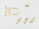 "Parts for iPhone 6 - NEW Gold Side Power Button Mute Switch Volume Key Sim Card Holder for iPhone 6 4.7"" A1549 A1586 A1589"