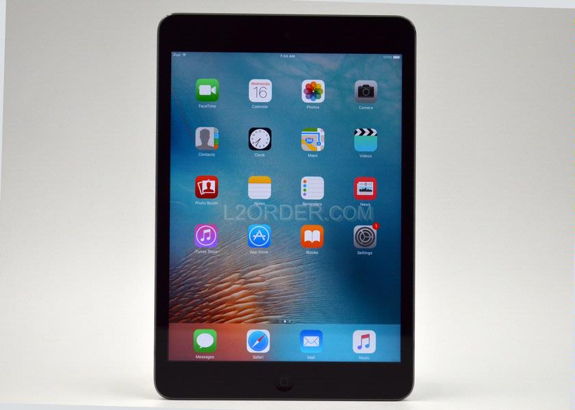 "Used Good Apple iPad Mini 2 32GB Wi-Fi 7.9"" Retina Display Tablet - Space Grey"