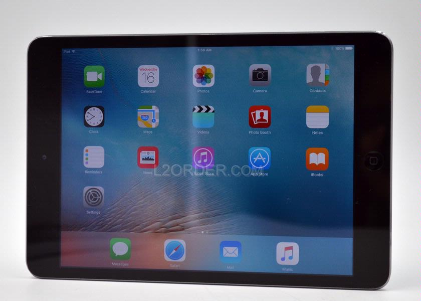 "Used Fair Apple iPad Mini 2 64GB Wi-Fi 7.9"" Retina Display Tablet - Space Grey"