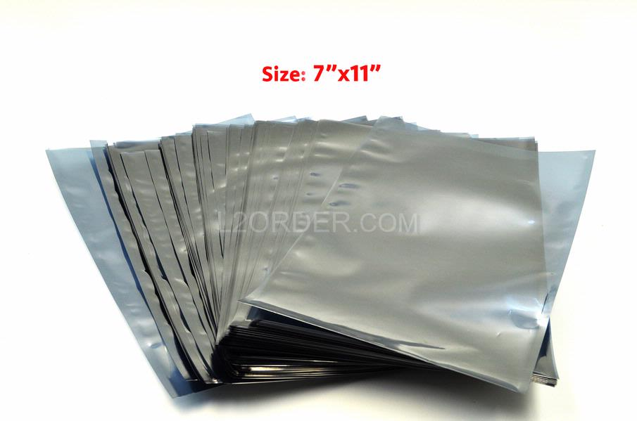 "NEW 100X 7"" x 11"" (18cm x 28cm) anti static Shielding Bags for Macbook Pro 13""A1278 A1342 15"" A1286 A1398 17"" A1297 Logic Board"