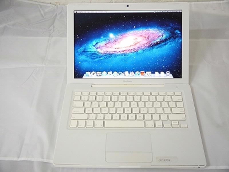 "USED Fair Apple White MacBook 13"" A1181 Early-2009 MB881LL/A EMC 2300 2.0 GHz Core 2 Duo 2GB Ram 160GB HDD GeForce 9400M 128MB Laptop"