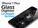 iPhone Parts Replacement - iPhone 7 Plus Glass Digitizer Replacement Service