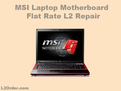 MSI Laptop Repair Service