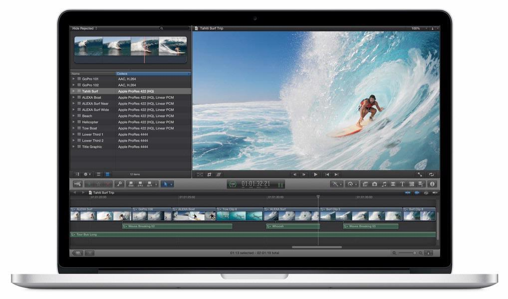"USED VERY GOOD Apple Macbook Pro Retina 15"" A1398 Late 2013 ME293LL/A 2.3 GHz 8GB 128GB Flash Storage Laptop"