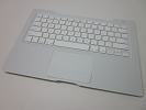 "KB Topcase - 95% NEW White Top Case Palm Rest with US Keyboard and Trackpad Touchpad for Apple MacBook 13"" A1181 2006 2007 2008 2009"