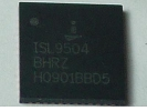 IC - ISL 9504BHRZ QFN 48pin Power IC Chip