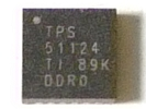 IC - TPS51124 QFN 24pin Power IC Chip