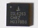 IC - ISL6263CHRZ QFN 32pin Power IC Chip