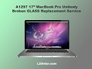 "Mac LCD/GLASS Replacement - A1297 17"" MacBook Pro Broken Glass Replacement Service"