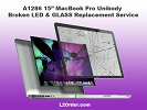 "Mac LCD/GLASS Replacement - A1286 15"" MacBook Pro Broken GLOSSY LED & GLASS Replacement Service"